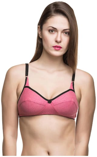 Docare Womens Pink Bra - ( Pack of 1 )