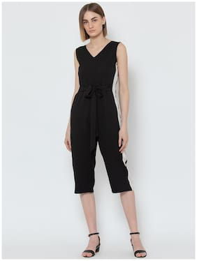 DODO & MOA Solid Jumpsuit - Black