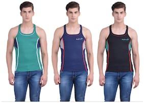 Cotton Gym Vest ,Pack Of 3