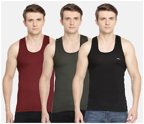 Cotton Shaping Vest ,Pack Of 3