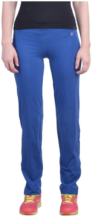 Dollar Missy Women's True Blue Regular Cotton Comfortable And Trendy Lounge Pant