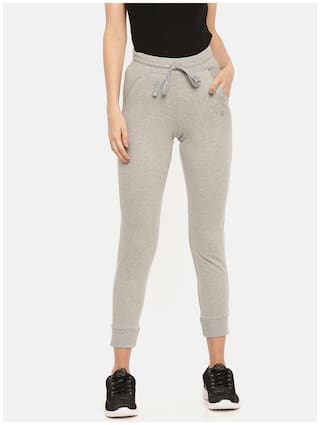 Dollar Missy Womens Grey Color Jogger