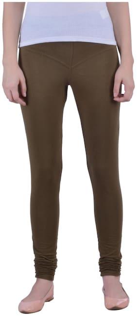 Dollar Missy Cotton Leggings - Green