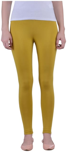 Dollar Missy Cotton Leggings - Gold