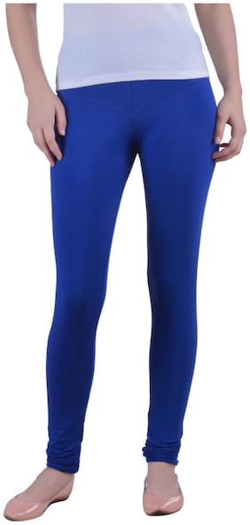 Cotton Solid Leggings 1