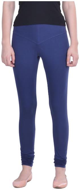 Dollar Missy Cotton Leggings - Blue