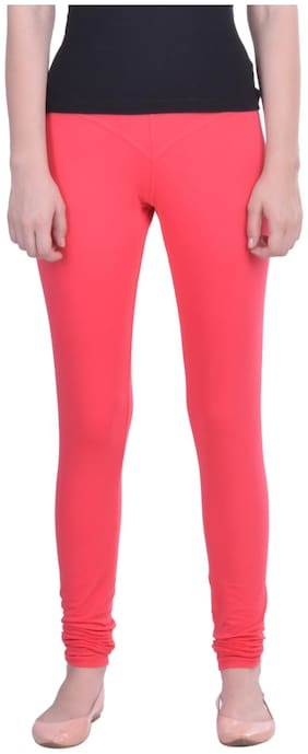 Dollar Missy Cotton Leggings - Pink