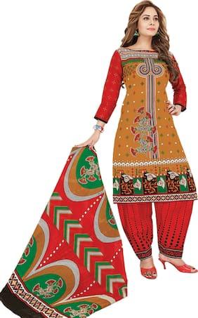 DRAPES Cotton Salwar - Multi
