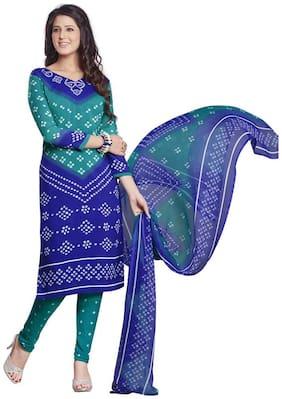 Women Crepe Dress Material