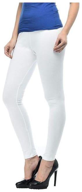 DREAM & DZIRE Cotton Leggings - White
