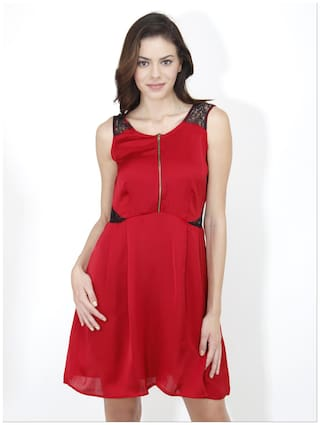 Mayra Red Dresses For Women