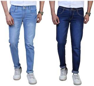 DRRAGON Men Blue Slim Fit Jeans