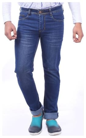 Shopjinie Men Blue Slim Fit Jeans