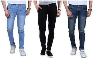 DRRAGON Men Multi Regular Fit Jeans