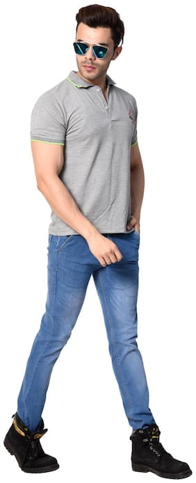 DRUTHERS Men Mid rise Slim fit Jeans - Blue
