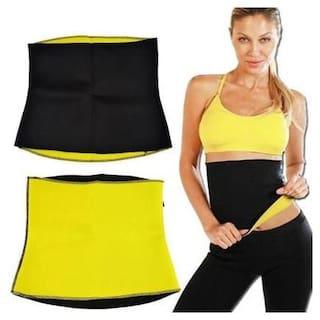 Ducncon Sweat Shaper Belt, Slimming belt, Waist shaper, Tummy Trimmer,Sweat slim belt,Belly fat burner,Stomach fat burner,Hot shaper belt,Best Quality,Super stretch,Unisex body shaper for men & women