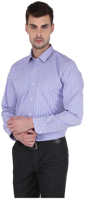 DUDLIND Men Regular Fit Formal Shirt - Pink