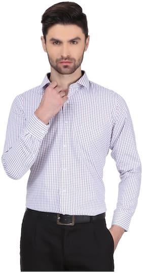 DUDLIND Men Regular Fit Formal Shirt - Red