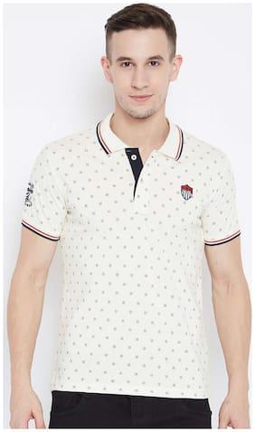 Duke Cream Cotton Tshirt