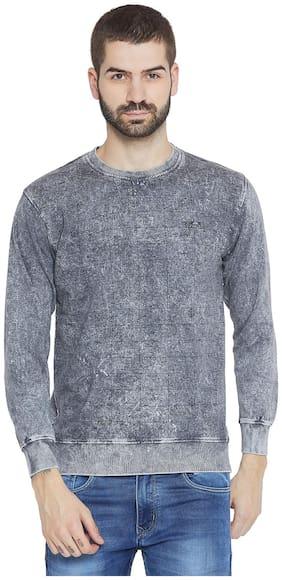 Duke Men Cotton Sweatshirt - Grey