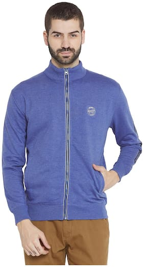 Duke Men Cotton Sweatshirt - Blue