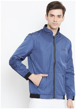 Duke Men Cotton Slim fit Jacket - Blue