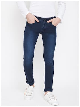 Men Regular Fit Mid Rise Jeans
