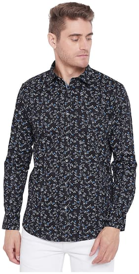 Duke Men Regular Fit Casual shirt - Black