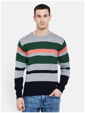 Duke Men Full Sleeve Short Sweater