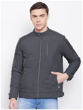 Men Cotton Long Sleeves Bomber Jacket
