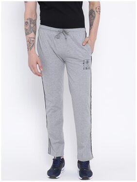 Duke Men Cotton Track Pants - Grey