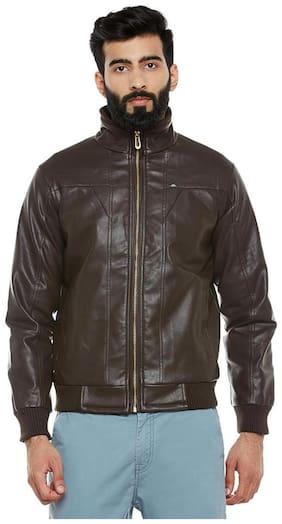 Duke Stardust Choclate Nylon Synthetic Jacket