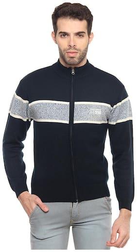 Men Acrylic Long Sleeves Jacket