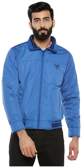 Men Nylon Full Sleeves Jacket