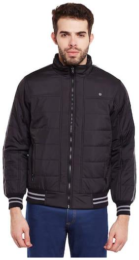 Duke Stardust Black Nylon Synthetic Jacket