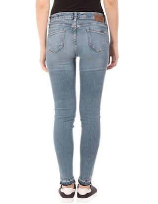 Blue Stone HARDY Cotton Hem Wash Jeans ED Raw R85qnwWWt