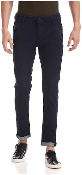 Men Super Skinny Fit Mid Rise Jeans Pack Of 1