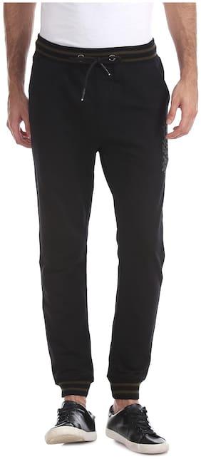 Slim Fit Cotton Blend Track Pants