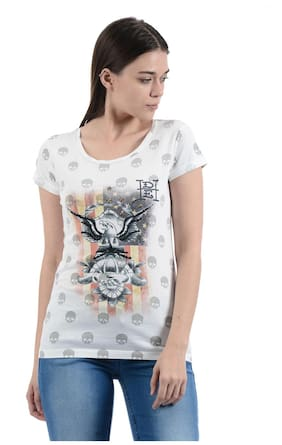 ad4df3ce Ladies T Shirt - Buy T Shirts for Women Online at Upto 80% Off