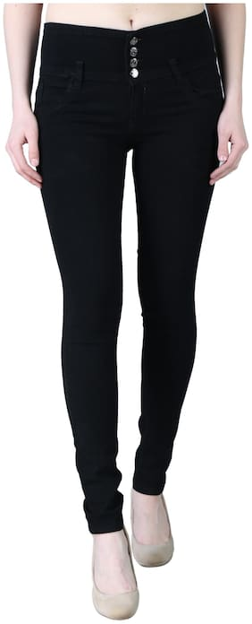 EditLook Women Black Skinny fit Jeans