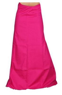 eFashion Cotton Solid Petticoat - Pink