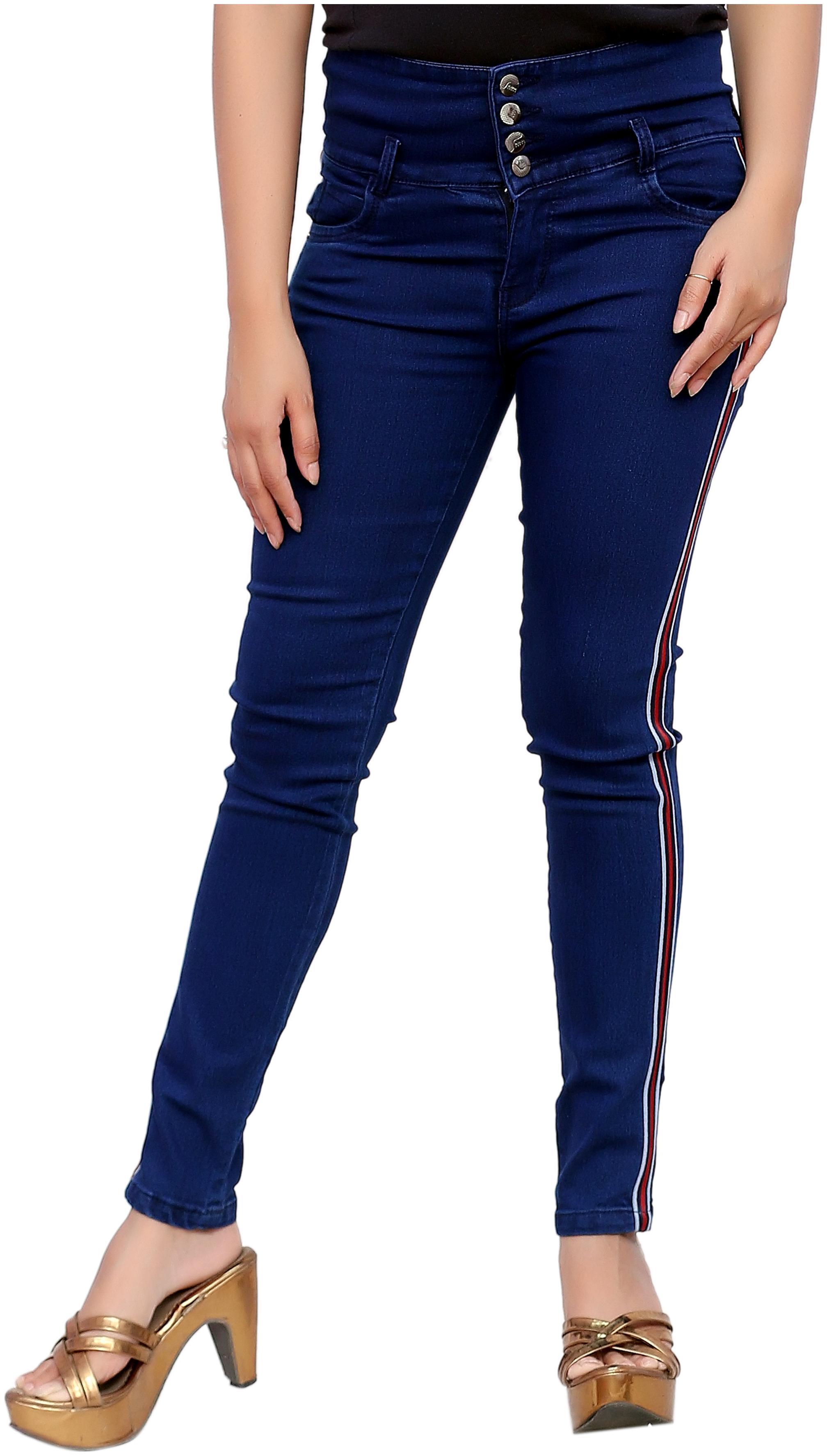 Elendra jeans Women Blue Slim fit Jeans