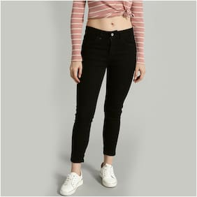 Elits Women Black Skinny fit Jeans