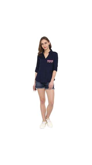 Emb Pocket Shirt