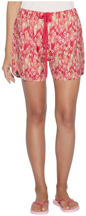 Enamor Women Printed Shorts - Multi