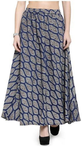 Printed Ethnic Skirt