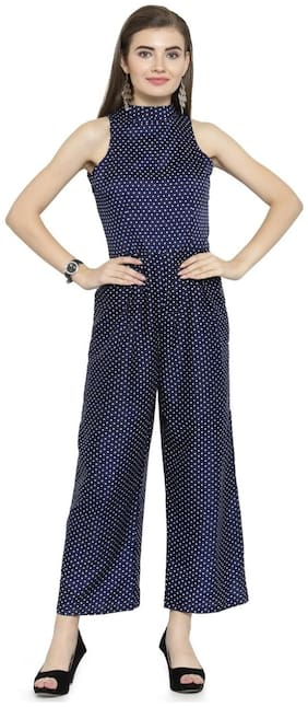 Women Polka Dots Jumpsuit