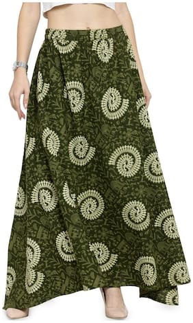 Indian Print Ethnic Skirt