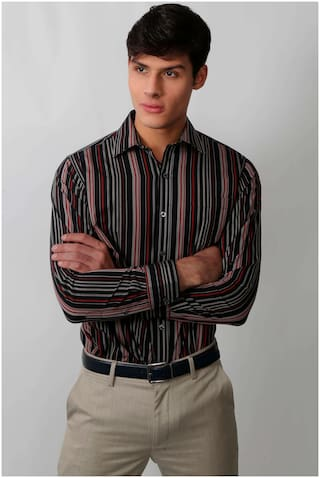 Enso Men Regular fit Formal Shirt - Multi