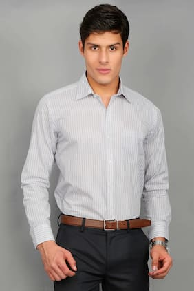 Enso Men Slim Fit Formal Shirt - Multi